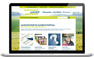 Screen Landwirtschaft-harburg.de